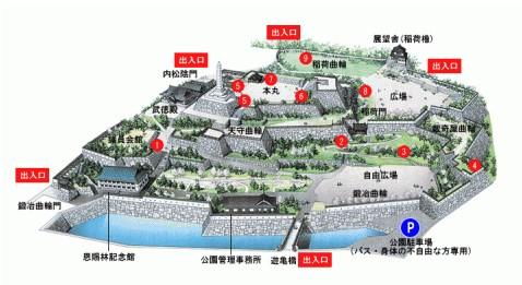 『甲府城』を120%楽しむ観光ガイド(写真スポット・アクセス・スタンプ・駐車場)を徹底紹介