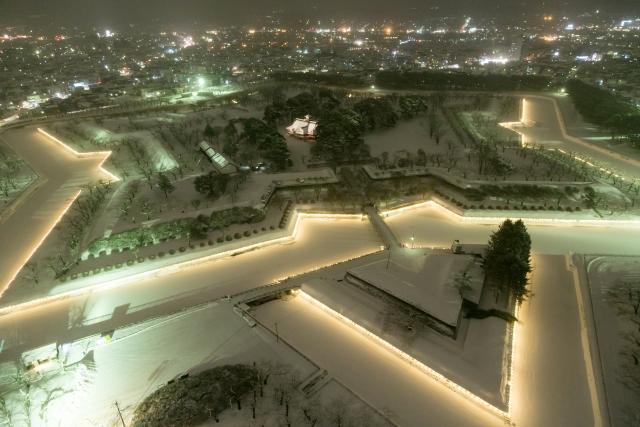 北海道『五稜郭』を120%楽しむ観光ガイド(写真スポット・アクセス・スタンプ・駐車場)を徹底紹介