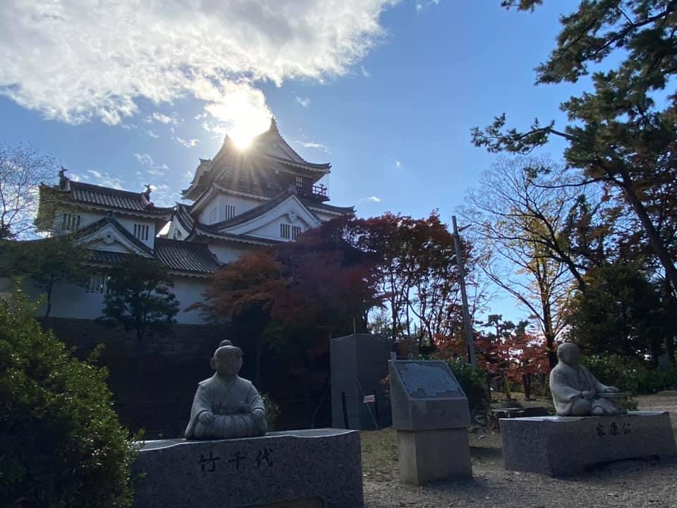 【岡崎城の魅力】写真スポット・アクセス・スタンプ・駐車場をまとめて紹介