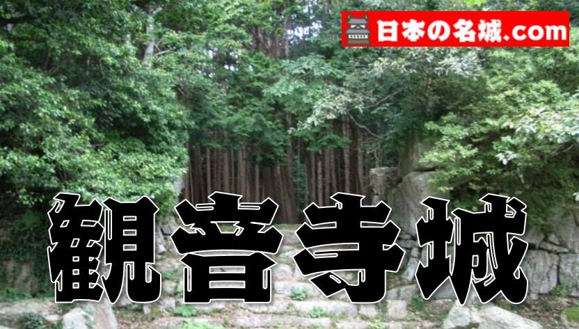 【52】観音寺城(滋賀県近江八幡市)