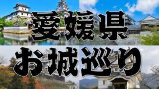 【愛媛県のお城巡り情報】アクセス・御城印・スタンプまとめ
