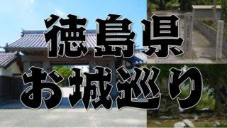 【徳島県のお城巡り情報】アクセス・御城印・スタンプまとめ